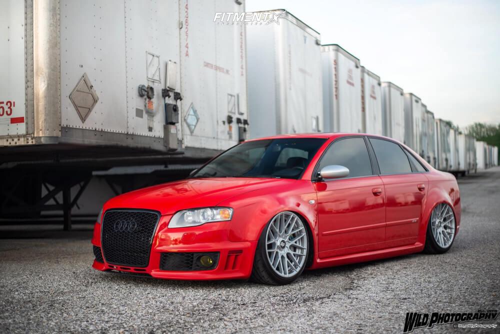 B7 Audi RS4 Bagged