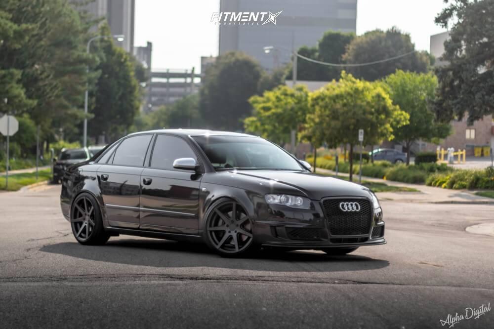 B7 Audi S4 with Rohana wheels