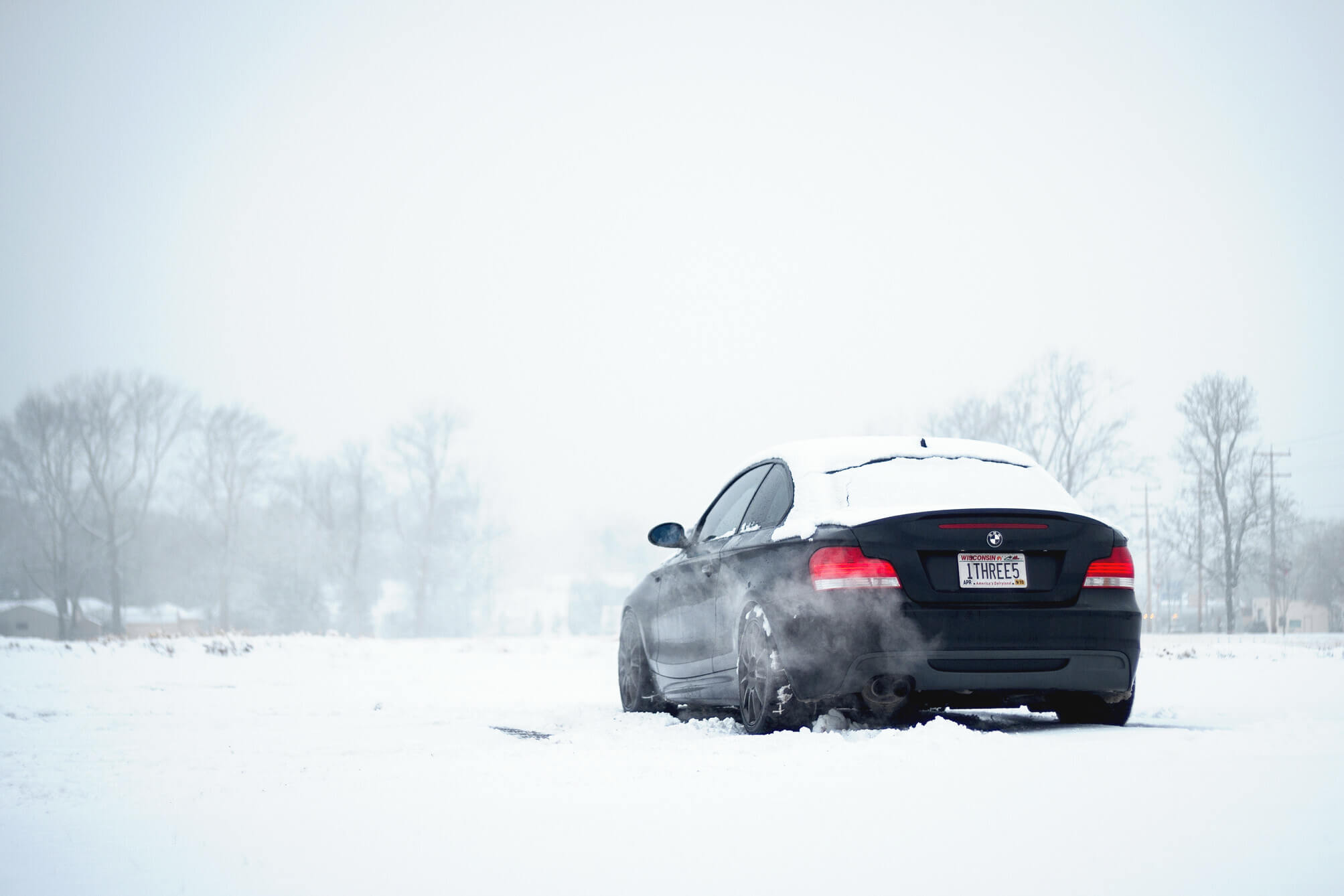 135i in the Snow