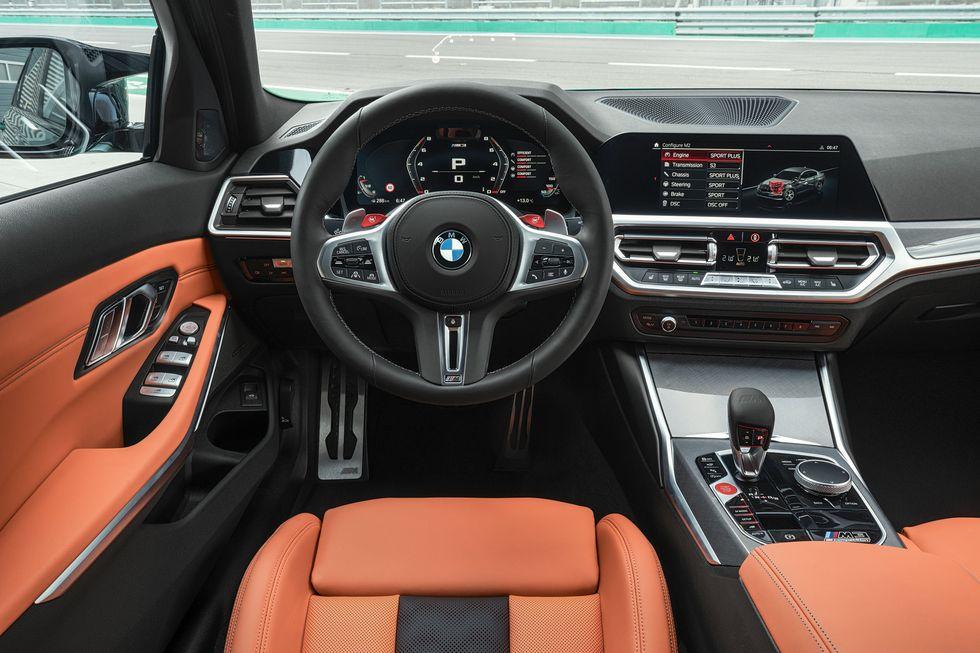 2021 M3 Steering Wheel