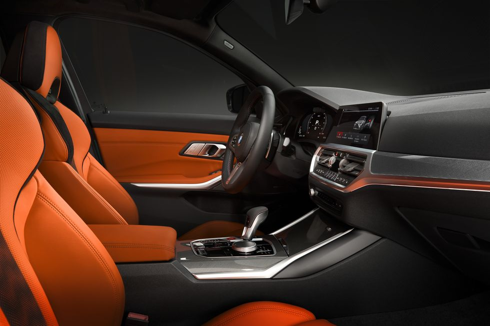 2021 BMW M3 Competition Interior