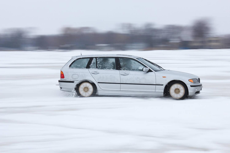 BMW Wagon Drifting