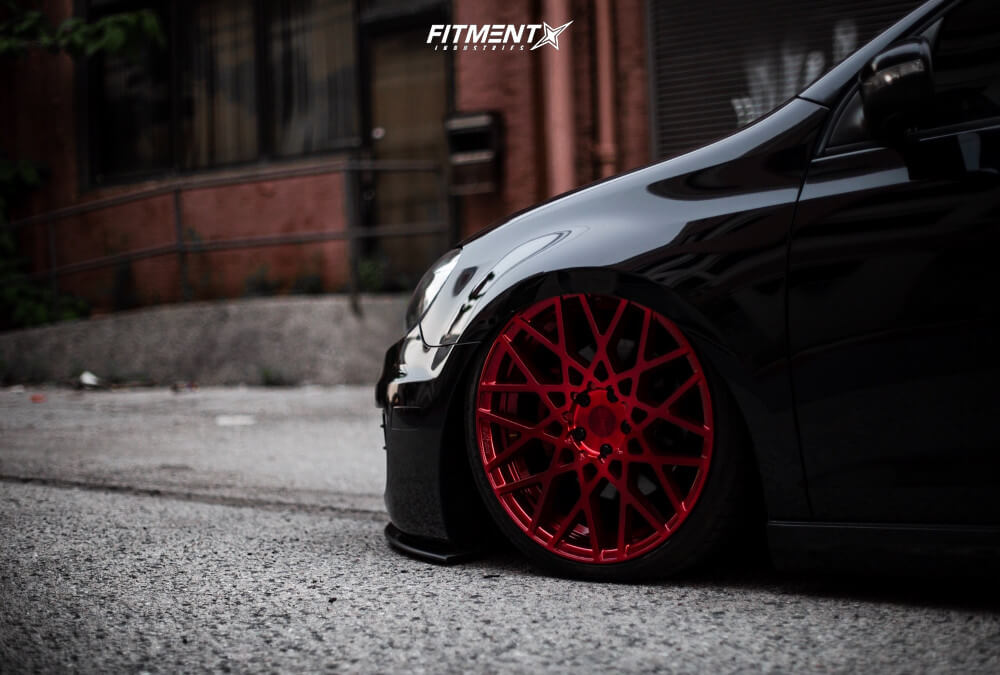 Bagged GTI with Rotiform Wheels
