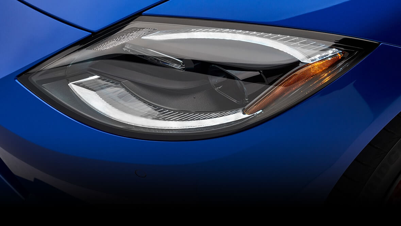 The new Nissan Z/Nissan 400 Z headlight design
