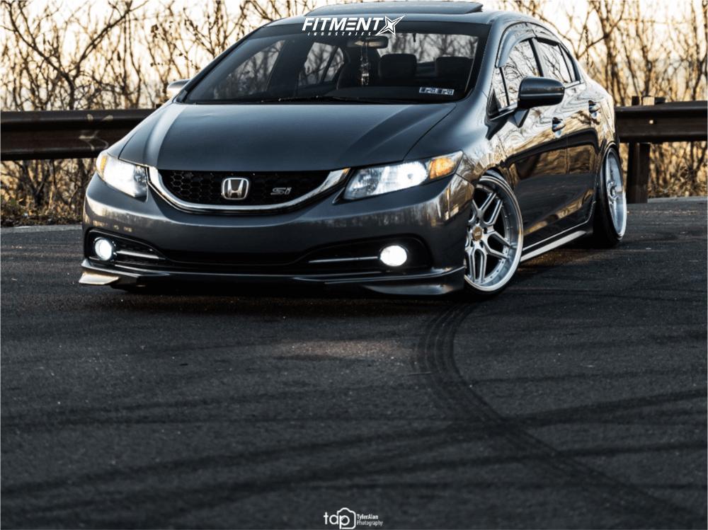 ESR CS15 Wheels on Honda Civic