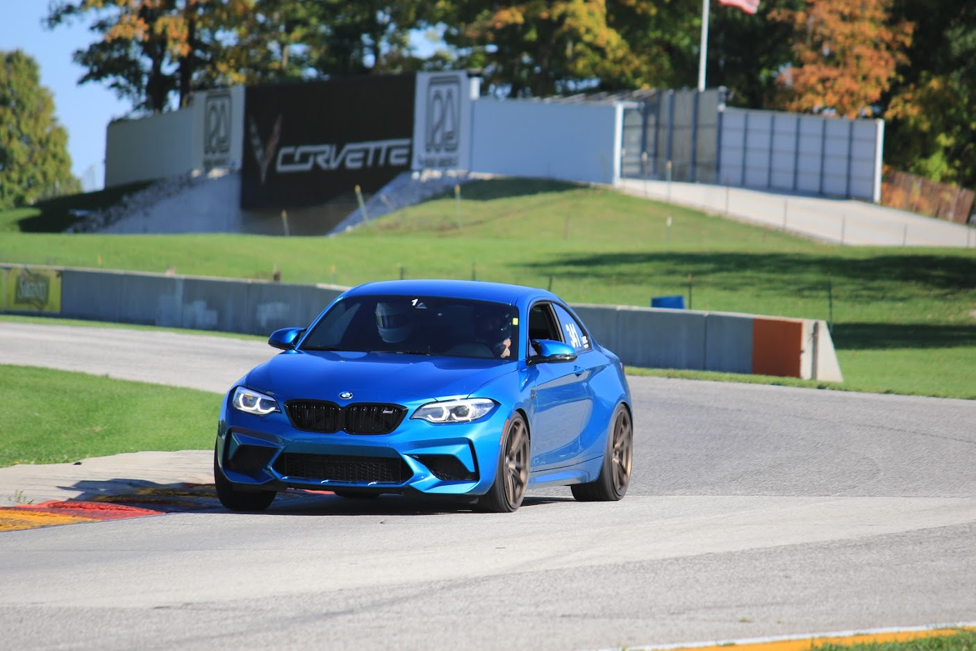 M2 on the track
