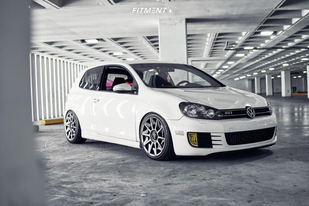 MK6 GTI on Rotiform Wheels