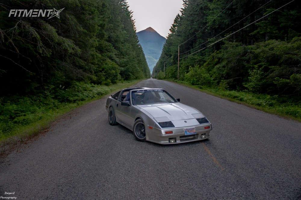 Tan modified 1986 Nissan 300ZX base