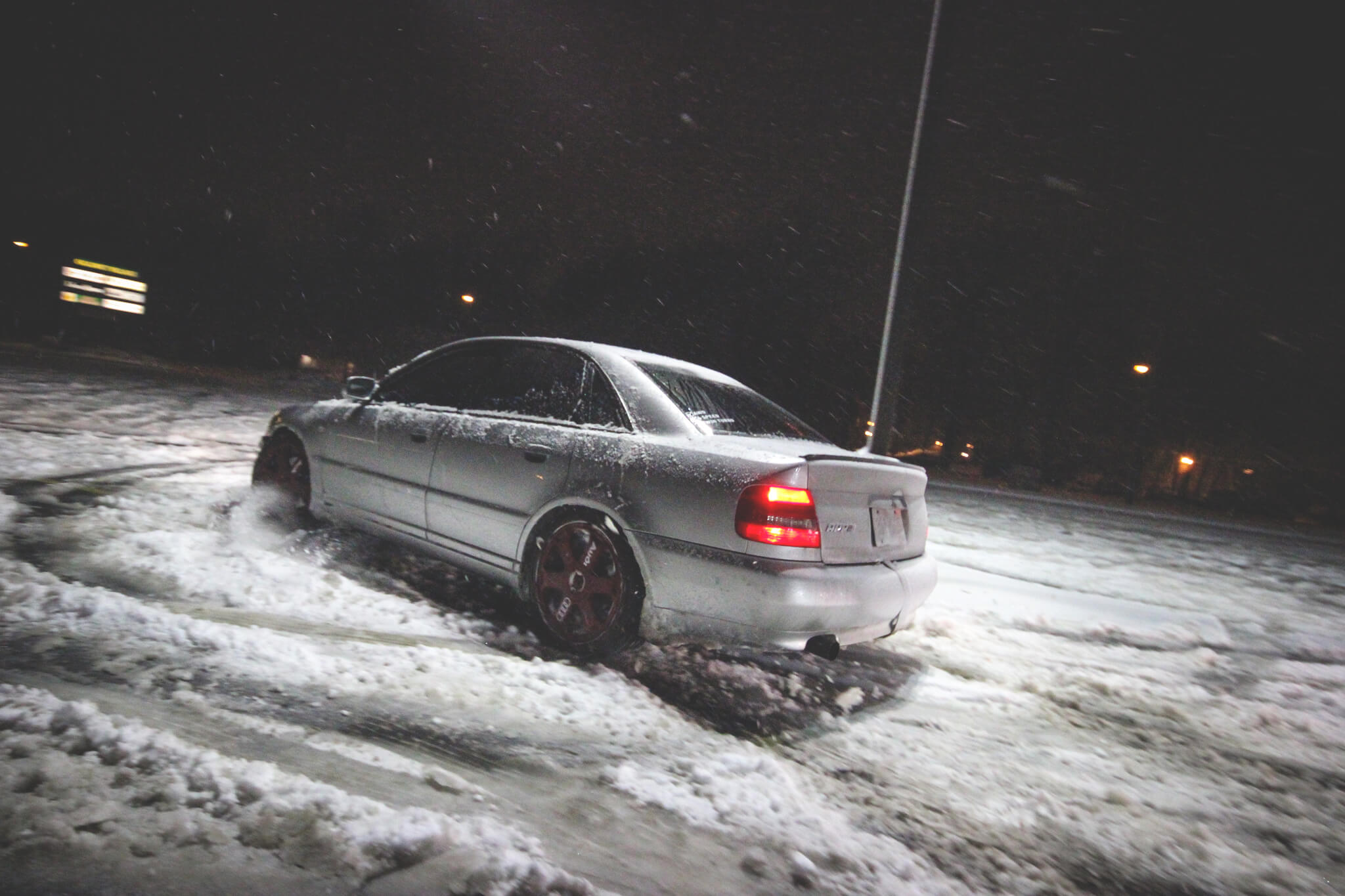 B5 S4 in the Snow
