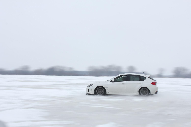 STI Hatch Drifting in Snow