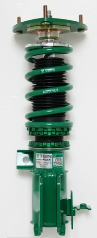 tein coilover spring preload and ride height adjustments