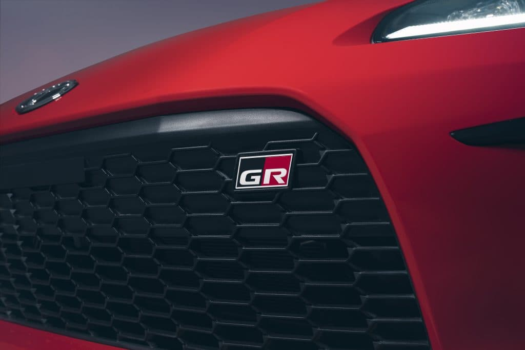 Toyota GR badge