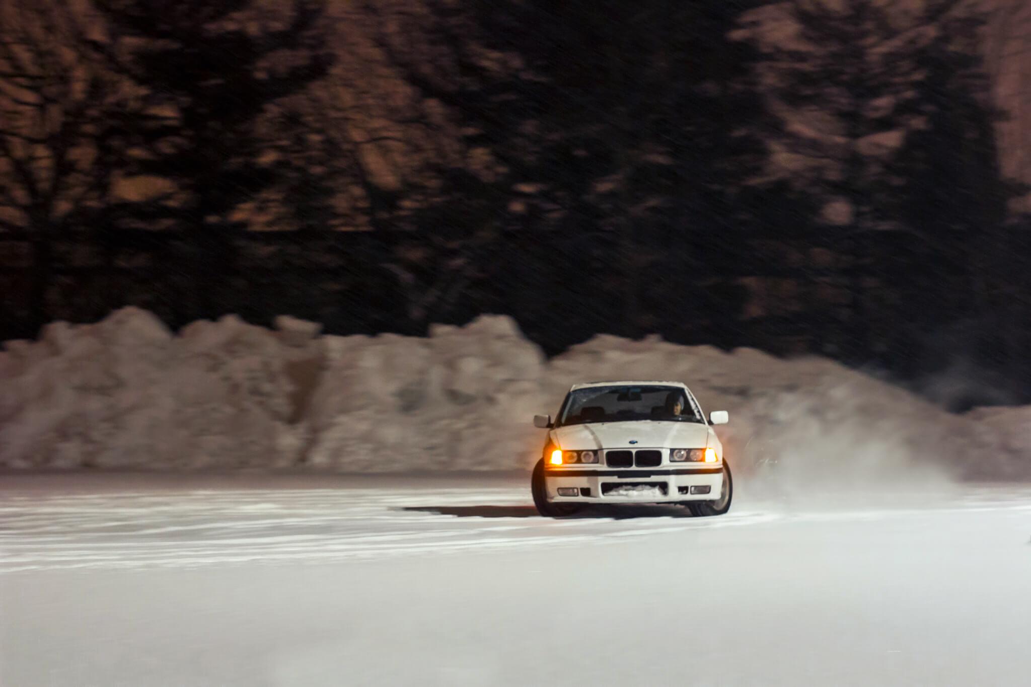 E36 Snow Drift