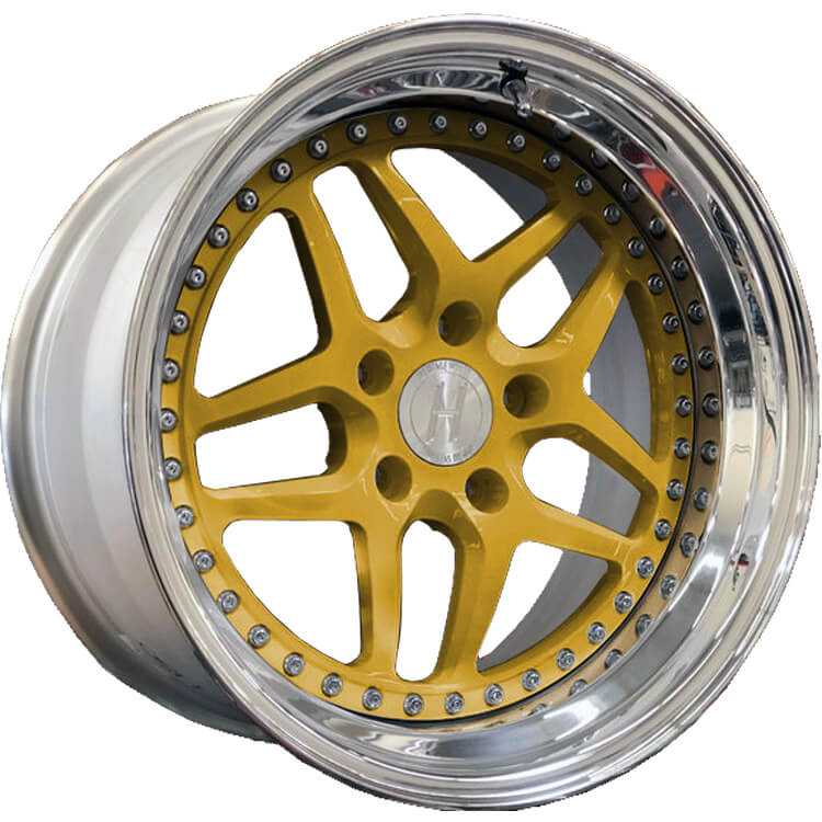 Heritage Ebisu Wheel Gold Finish
