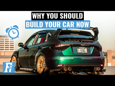 Why You Should Build Your Car Now