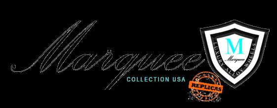 Marquee Replica Wheels Logo